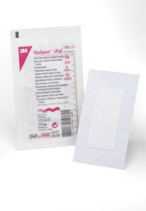 3M™ MEDIPORE™ +PAD SOFT CLOTH ADHESIVE WOUND DRESSING