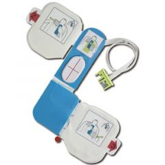 ZOLL AED DEFIBRILLATOR ACCESSORIES - CPR-D-padz Training Electrodes, For Use with AED Plus Trainer Only, Includes (1) pr of Disposable Adhesive Gels, 8900-0804-01
